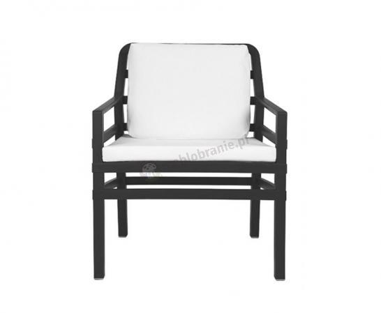 Nardi fotel do ogrodu Aria Fit Antracite/Bianco