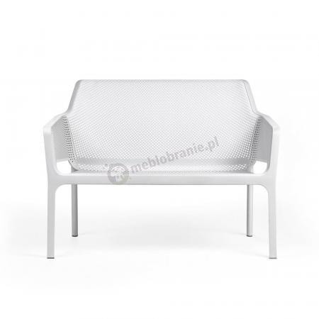 Nardi ławka ogrodowa Net bench Bianco