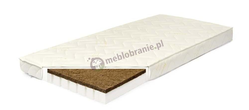 Materac lateksowo-kokosowy Hevea Krzyś 120x60 cm - Medica
