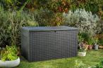 Keter Java duża skrzynia ogrodowa 850L grafitowa