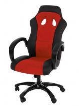 Actona Race czerwony fotel gamingowy dla gracza