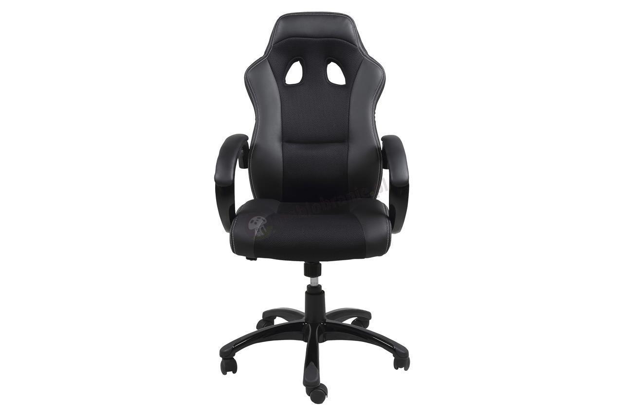 Actona Racer fotel dla gracza czarny
