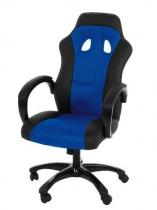 Actona Race niebieski fotel dla gracza