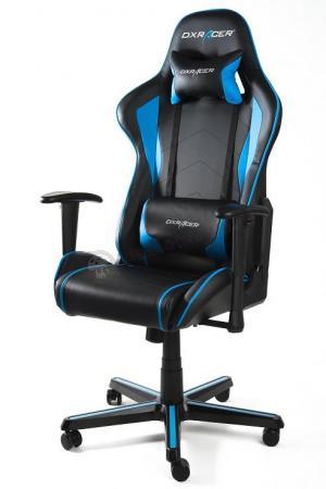 Fotel gamerski DXRacer FH08/NB niebieski
