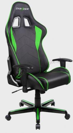 Fotel dla gracza komputerowego FH08/NE zielony