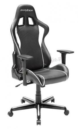 Profesjonalny fotel dla gracza DXRacer FH08/NW biały