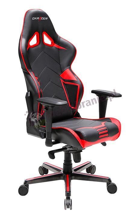DXRAcer fotel obrotowy dla gracza RV131/NR czerwony