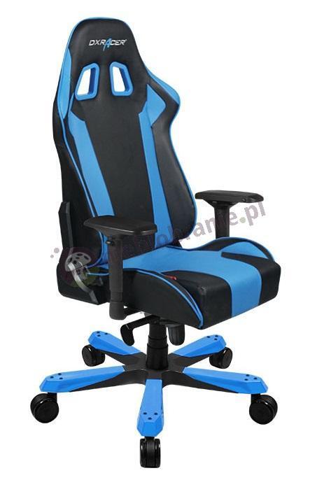 Fotel kubełkowy do komputera KS06/NB niebieski