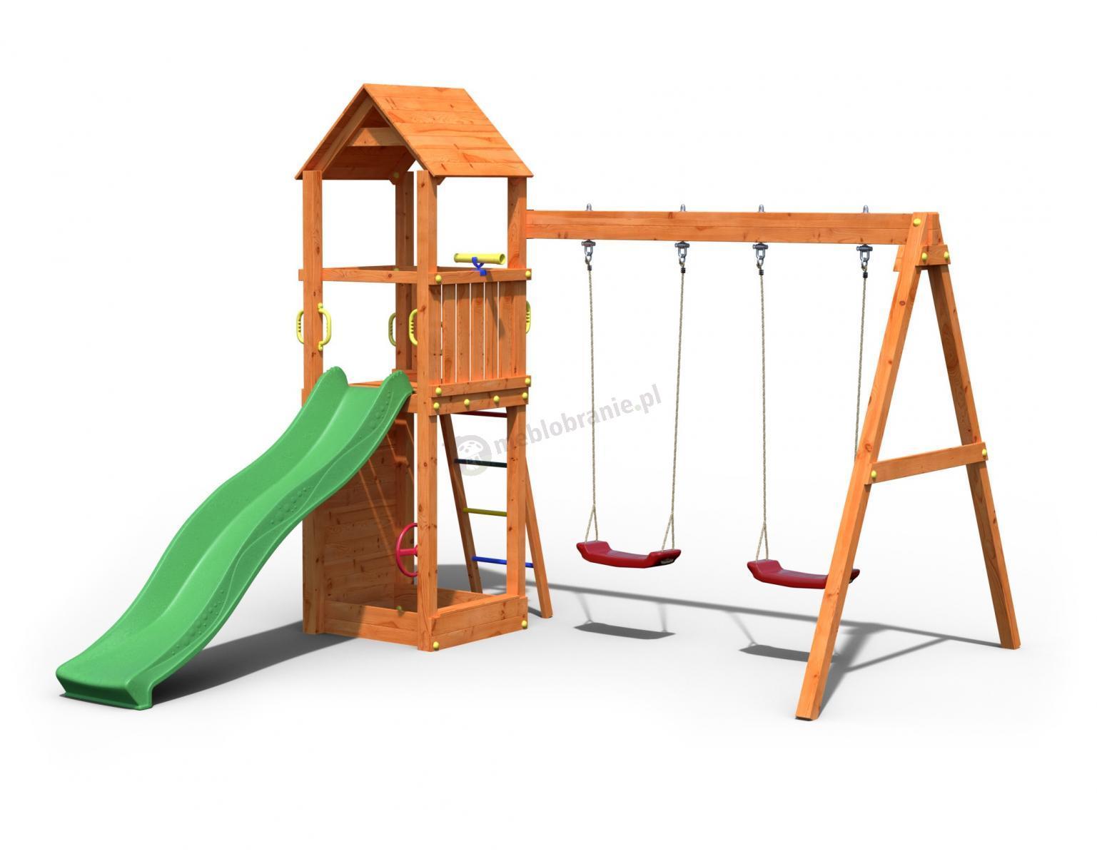 drewniany plac zabaw dla dzieci fungoo flapi. Black Bedroom Furniture Sets. Home Design Ideas