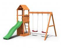 Drewniany plac zabaw dla dzieci Fungoo Flapi