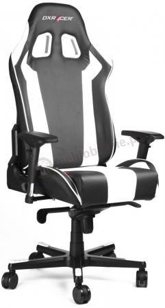 Fotel kubełkowy komputerowy DXRacer KS06/NW biały