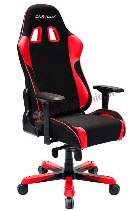 Wygodny fotel do komputera DXRacer KS11/NR czerwony