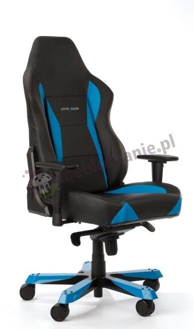 DXRacer fotel sportowy do komputera WY0/NB niebieski