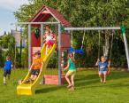 Kolorowy plac zabaw dla dzieci Fungoo Set Fortress Move