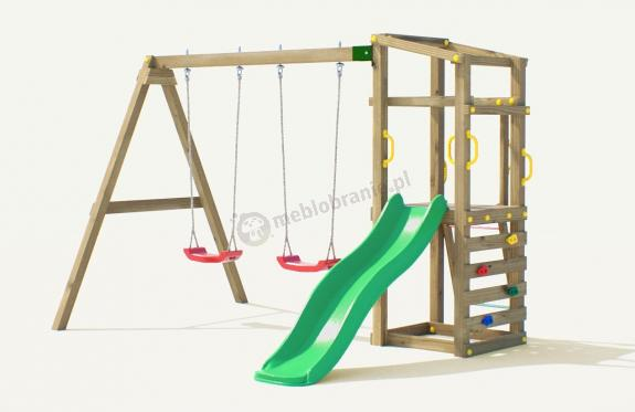 Plac zabaw drewniany Fungoo Hally