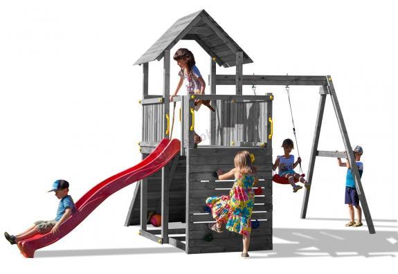 Plac zabaw dla dzieci ze ślizgiem Fungoo Carol 3 G