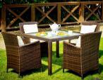 Zestaw mebli stołowych ogrodowych PAZZO