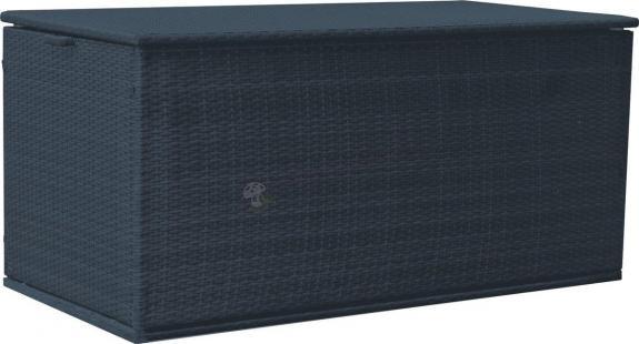 Skrzynia technorattan 160x80cm BOX czarny