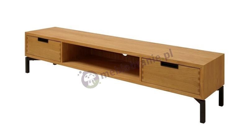 Interstil Apartment drewniana szafka RTV na nóżkach