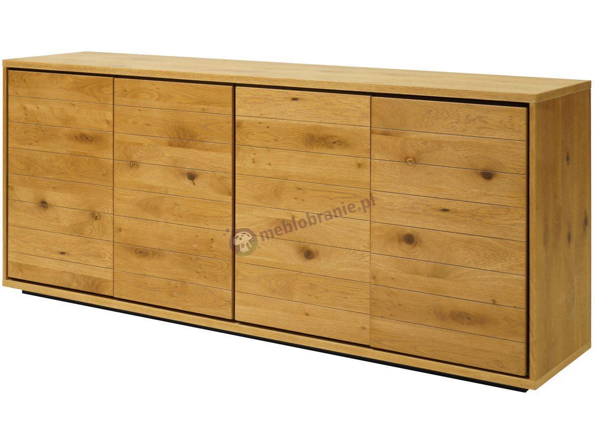 Interstil Dallas nowoczesna komoda drewniana do salonu