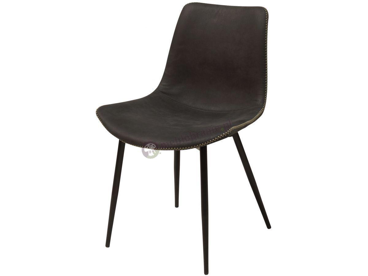 Interstil Huntington czarne krzesło do jadalni