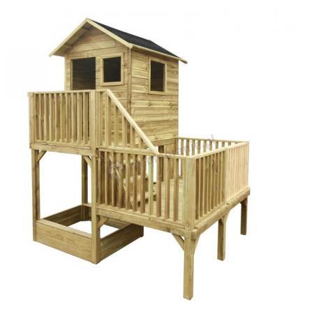 Domek ogrodowy dla dzieci Hubert bez ślizgu