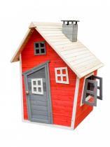 Drewniany domek dla dzieci Olek