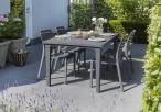 Stół ogrodowy Futura Grafitowy 165x95cm