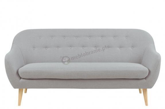 Actona Elly szara sofa w stylu skandynawskim