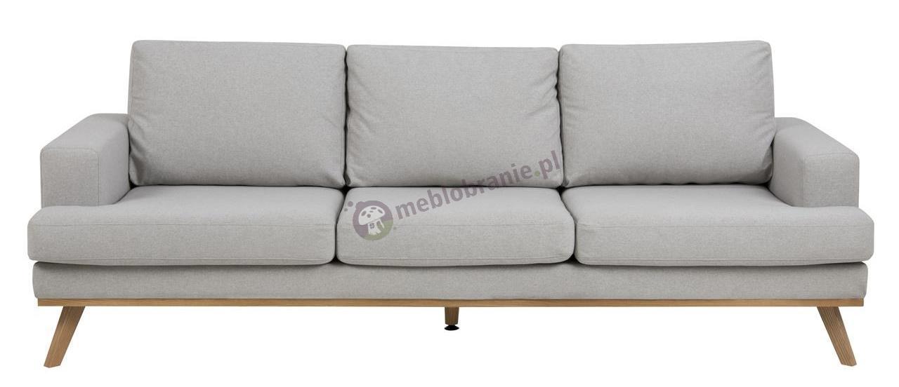 Actona Norwich stylowa jasnoszara sofa do salonu