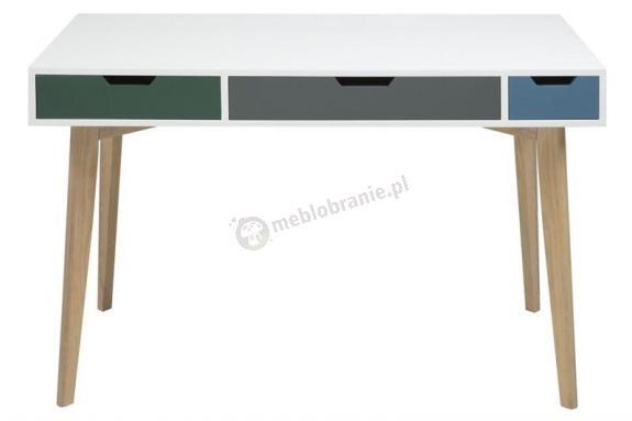 Actona Tess biurko z szufladami w stylu skandynawskim