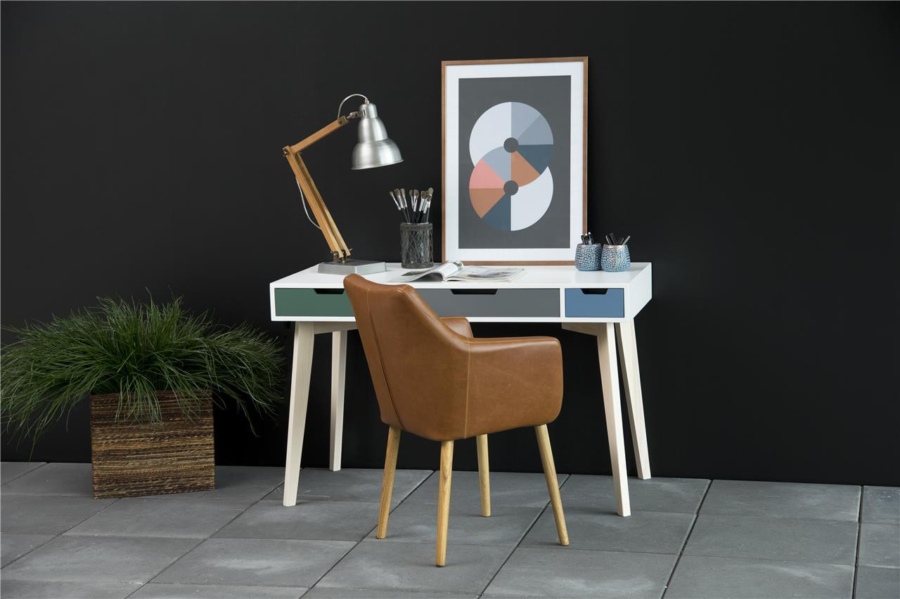 Actona Tess biurko w stylu skandynawskim