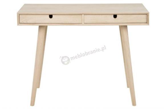 Actona Century minimalistyczne biurko drewniane z szufladami