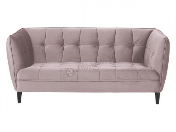 Actona Jonna aksamitna sofa na nóżkach brudny róż