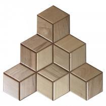 Drewniany panel 3d HEXAGON 16 - buk - Natural Wood Panels