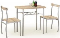 Zestaw do kuchni stół + 2 krzesła dąb sonoma Lance