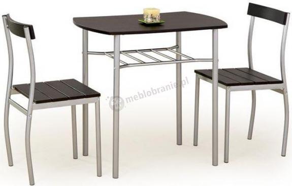 Zestaw Do Kuchni Stół 2 Krzesła Wenge Lance