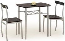 Zestaw do kuchni stół + 2 krzesła wenge Lance