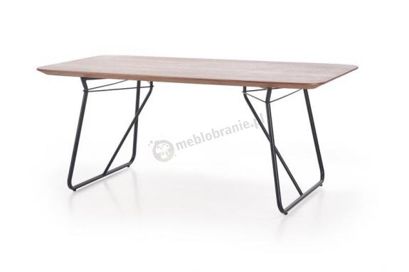 Stół do jadalni Houston z drewnianym blatem 180cm