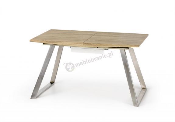 Rozkładany stół dąb sonoma/biały Trevor Halmar 130-170cm