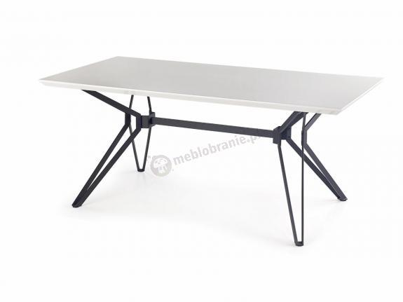 Rozkładany stół do jadalni biały blat 160-200cm Pascal