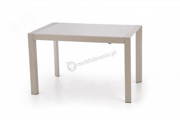 Rozkładany stół ze szklanym blatem Arabis Halmar 122-182cm