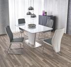 Biały lakierowany stół 160-200cm Platon Halmar aranżacja