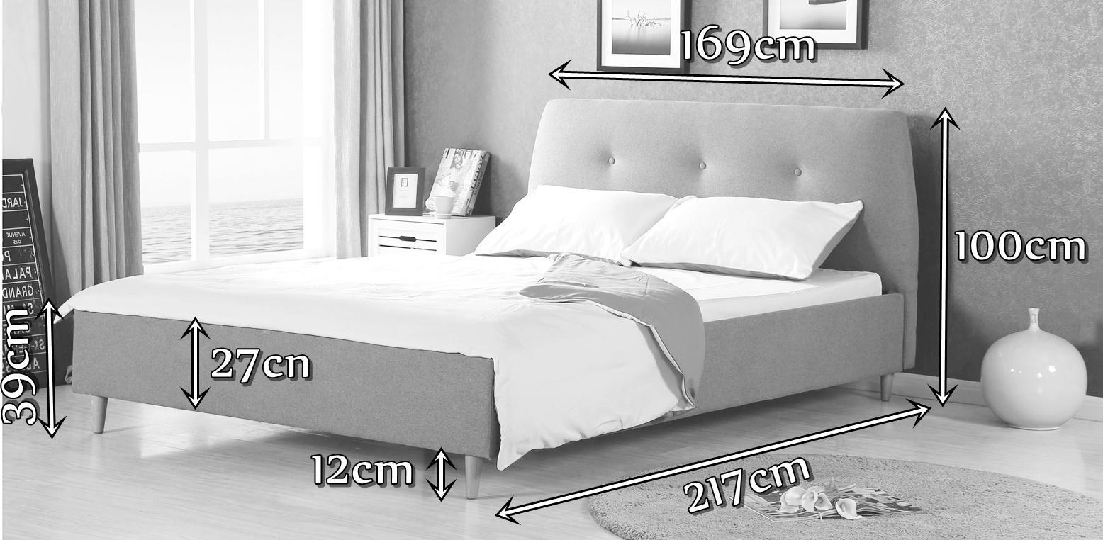 Łóżko Doris Halmar wymiary