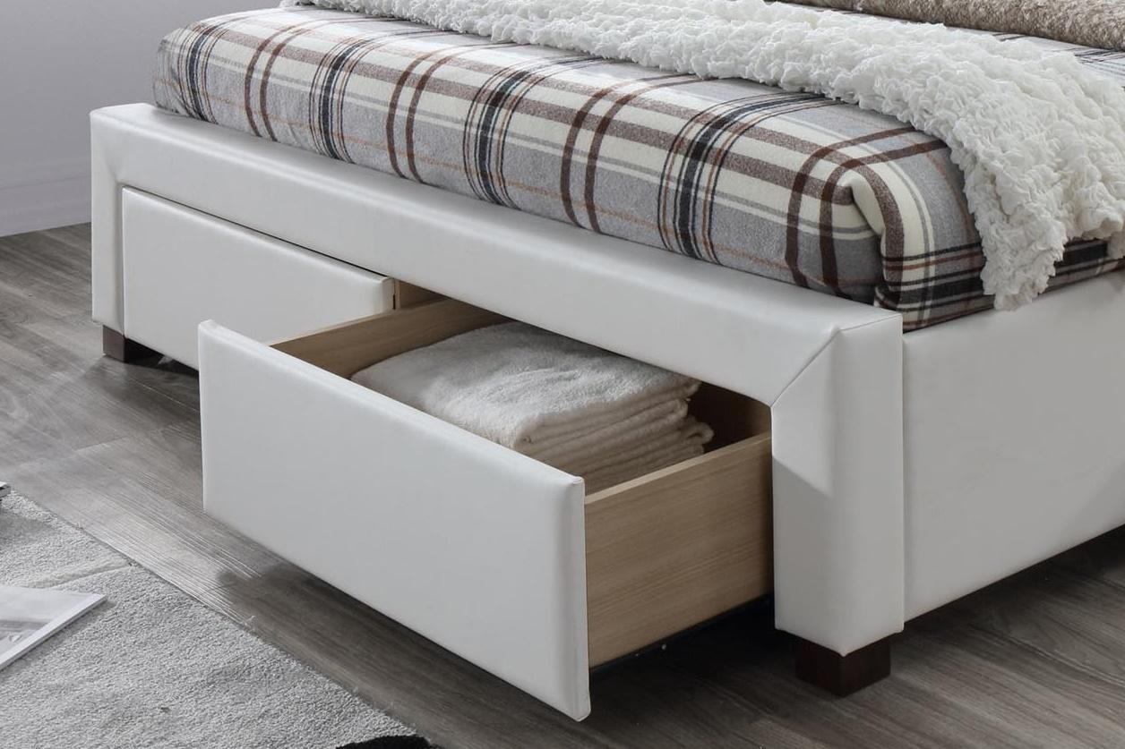 Szuflady łóżka Modena