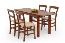 Rozkładany stół obiadowy Dinner czereśnia 120-158cm