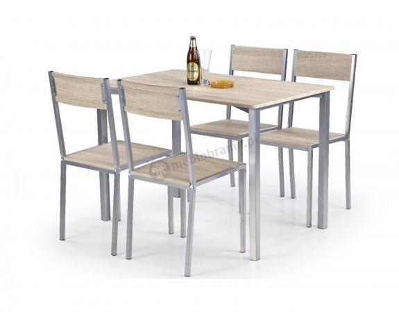 Zestaw Mebli Do Kuchni Stół Krzesła Ralph Halmar