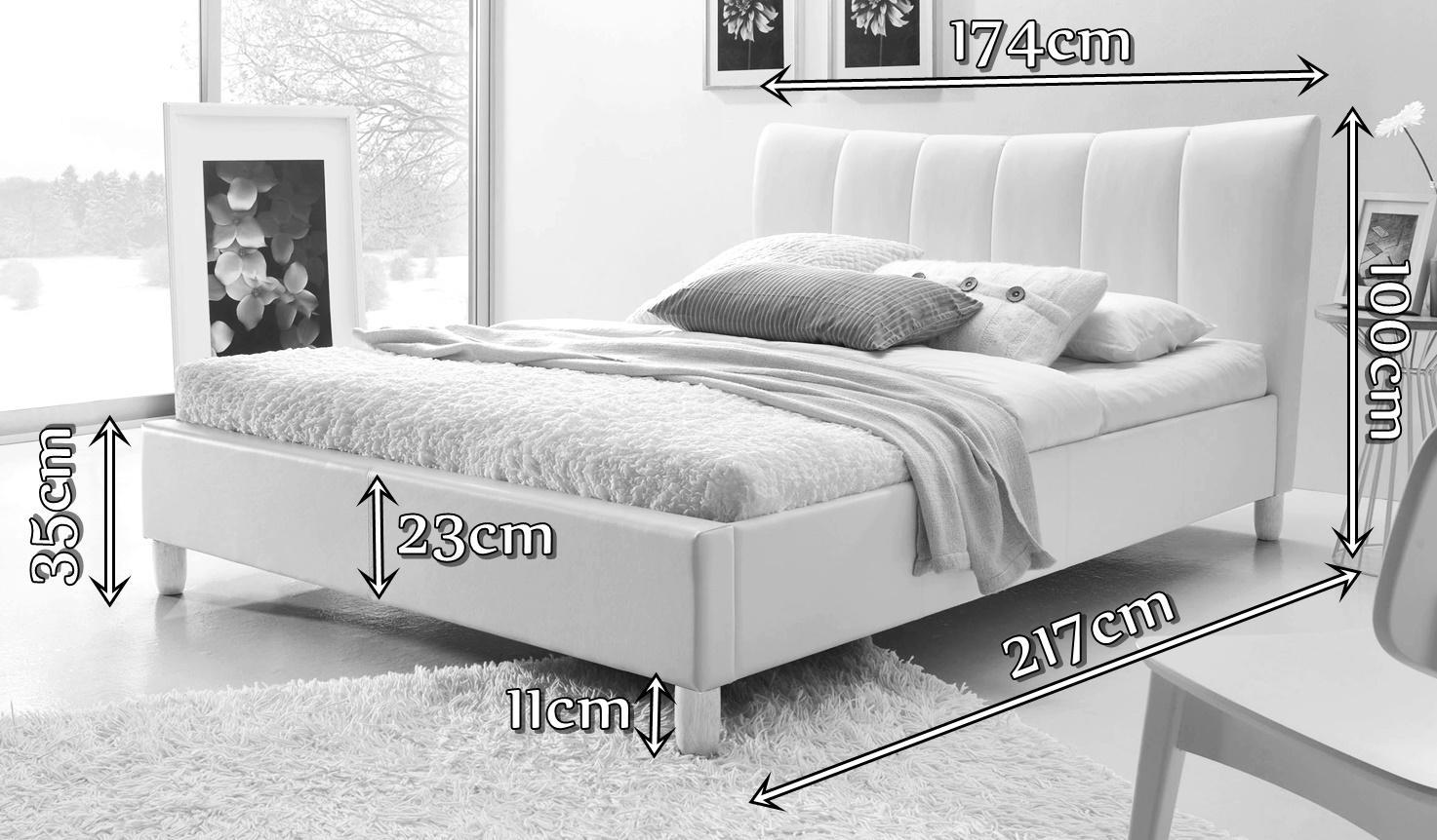 Łóżko Sandy wymiary
