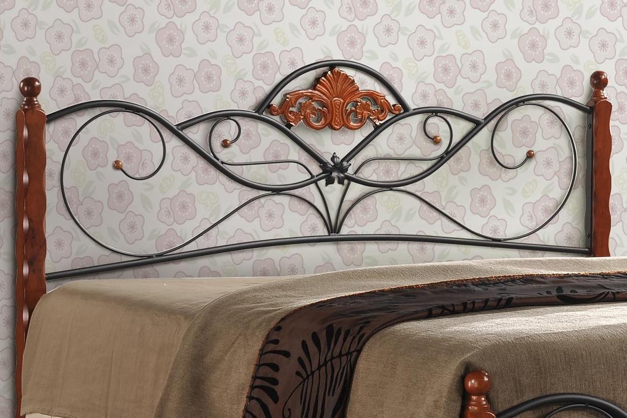 Ozdobne łóżko Valentina - szczegóły