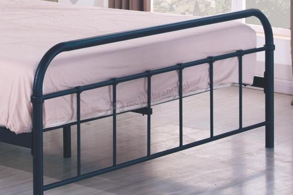 łóżko Do Sypialni Metalowe 120cm Linda Halmar Meblobraniepl